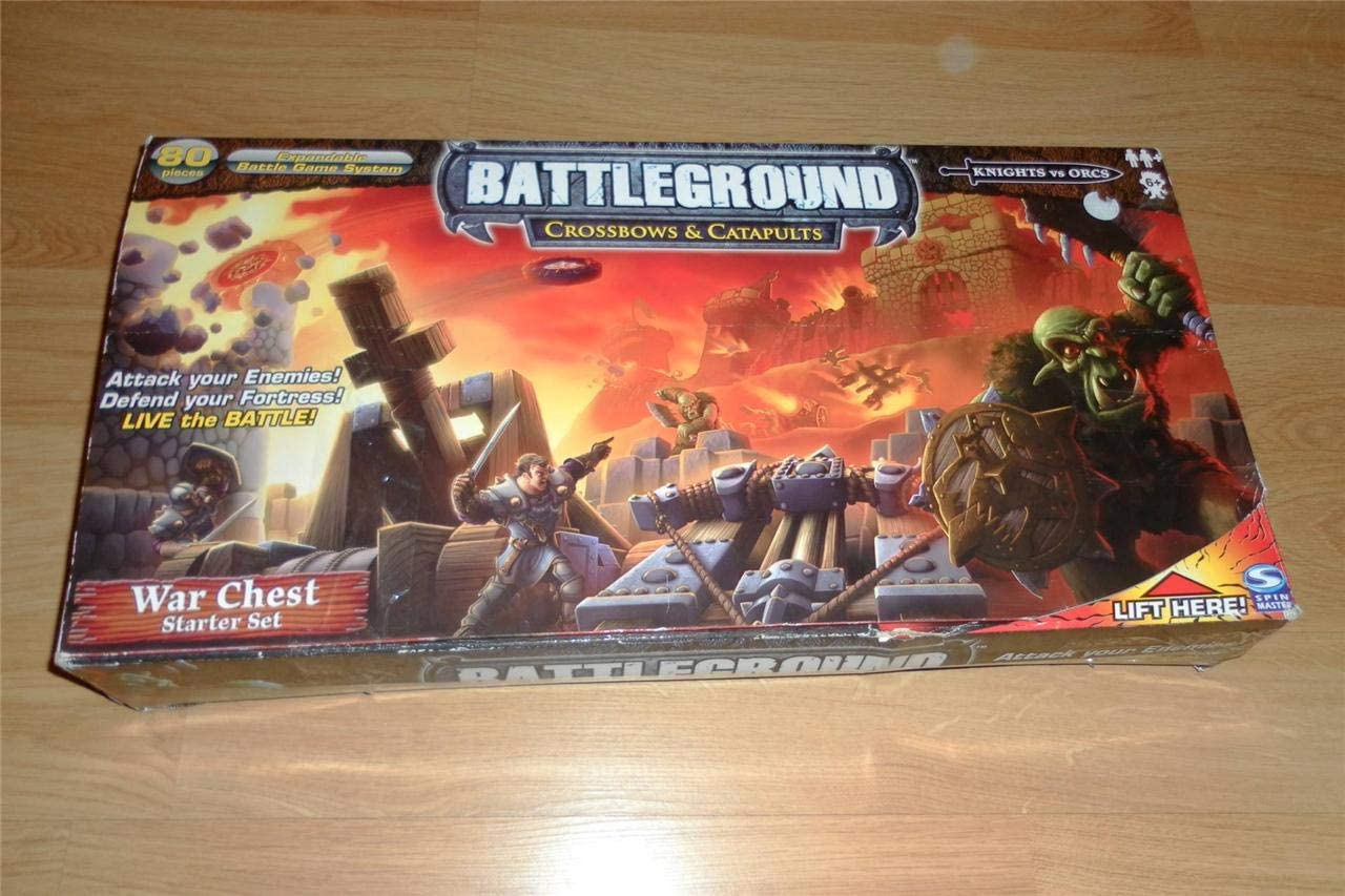 Battleground: Set inicial de arcas de guerra de ballestas y catapultas: Amazon.es: Juguetes y juegos