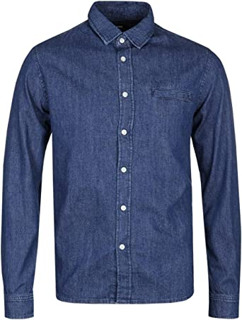 Edwin Better Shirt Camisa Vaquera para Hombre: Amazon.es: Ropa