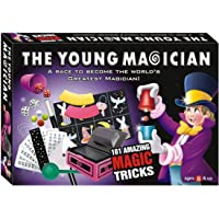 House of Gifts The Young Magician 101 Amazing Magic Tricks for Kids (Multicolour)