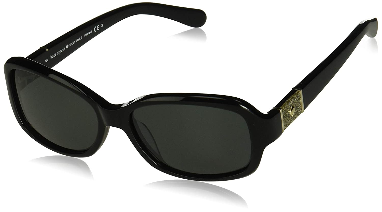 5dc4f570ee Amazon.com  Kate Spade Women s Cheyenne p s Polarized Oval Sunglasses