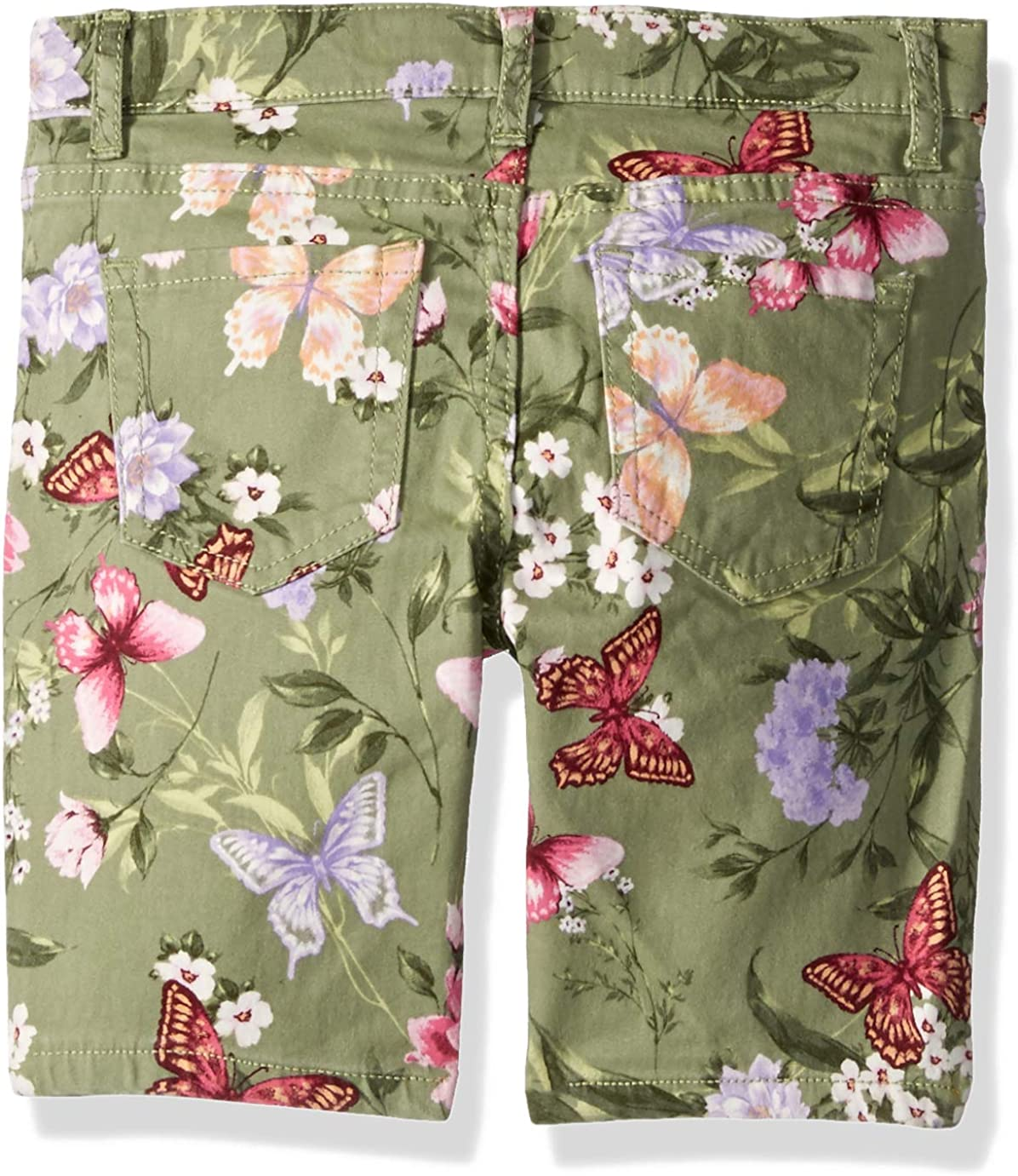 The Childrens Place Big Girls Plus Sized Printed Denim Skimmers