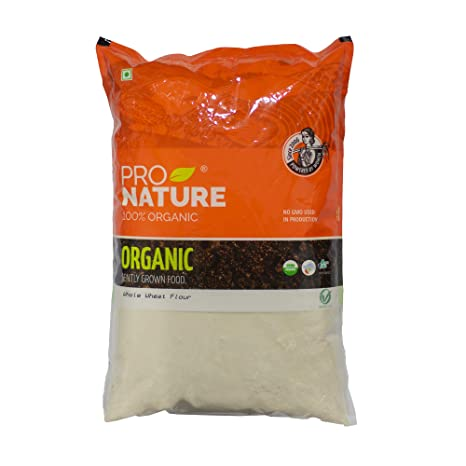 Pro Nature 100% Organic Whole Wheat Flour 5 kg