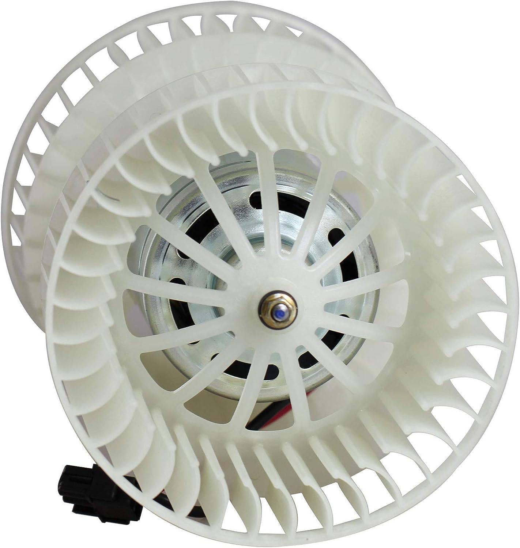 BOXI HVAC Blower Motor Fan Assembly for 2001 2002 2003 2004 2005 BMW 320i 325i 325Xi 330i 330Xi / 2001 2002 2003 2004 2005 2006 BMW 325Ci 330Ci M3 / 2005 2006 2007 2008 BMW X3 / 64113453729 700165