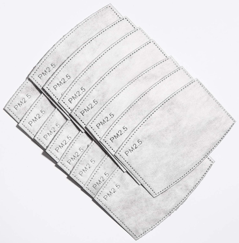 Have a lunglife ensemble de 3 appareil respiratoire coton avec 15 filtres de charbon de remplacement pour r/éduire les mati/ères poussi/ère Adult zigzag//ligne//points