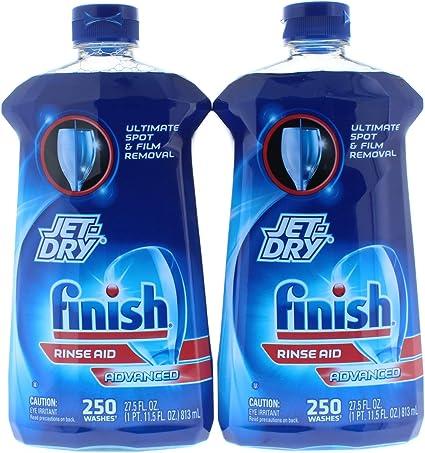 Amazon.com: 2 unidades. Finish Jet-Dry Rinse Aid Advanced ...