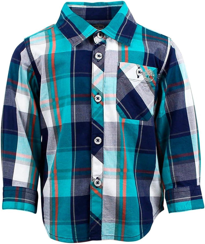 Timberland Camisa Manga Larga T05H01 703 Verde: Amazon.es: Ropa y accesorios