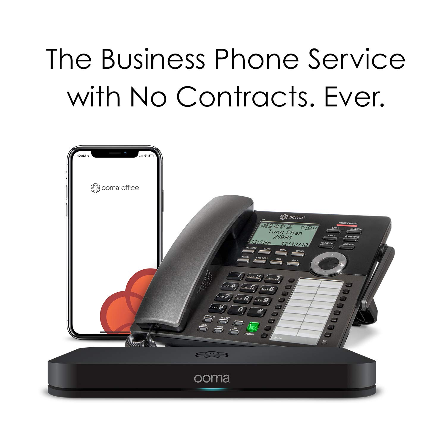 Amazon Ooma Office Ffp Office Business Phone System And