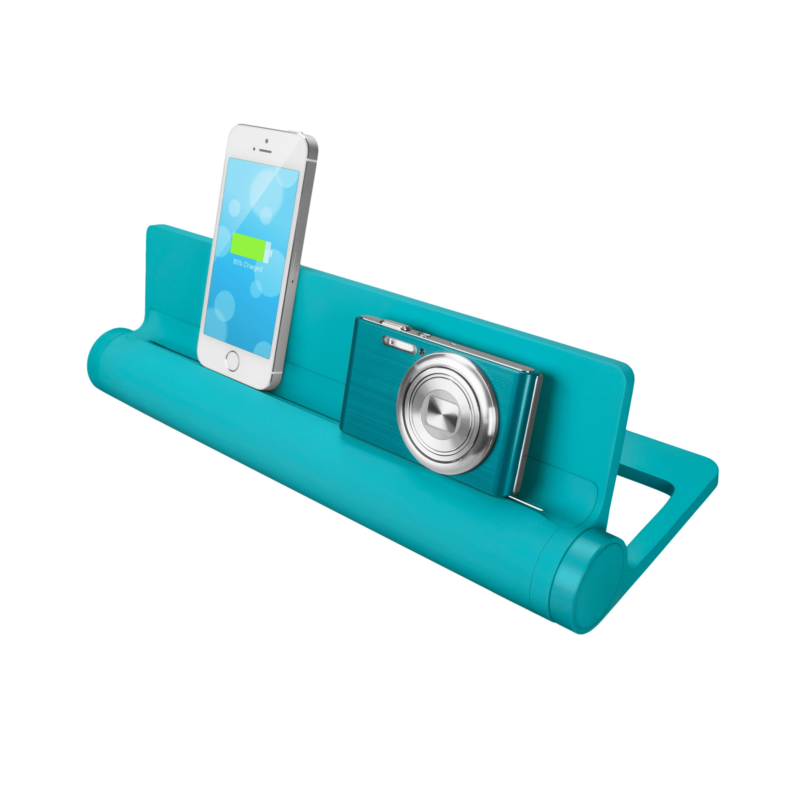 Quirky PCVG3-TL01 Converge Universal USB Docking Station, Teal by Quirky