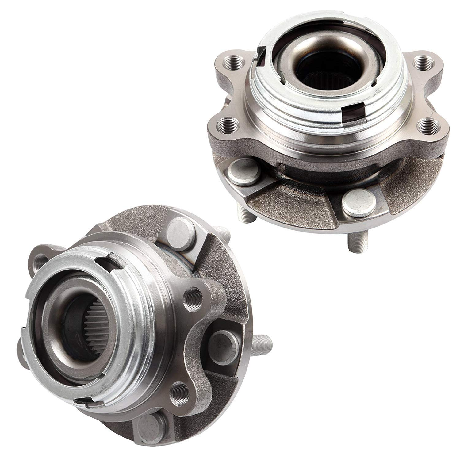 Bodeman - Pair (2) Front Wheel Hub and Bearing Assembly for 2007-2013 Nissan Altima 3.5L / 2014-2017 Altima / 2009-2017 Maxima / 2009-2018 Murano / 2013-2017 Pathfinder by Bodeman