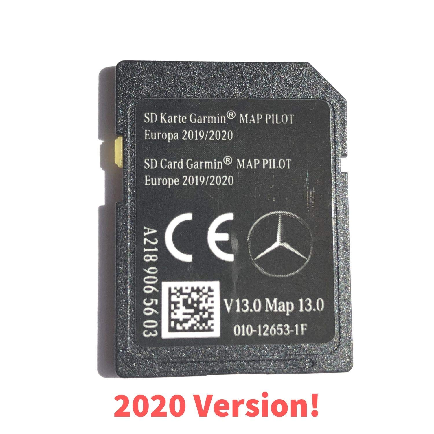 Mercedes-benz SD Card Garmin Map Pilot v12 2019 Europa a2189065503 nuevo