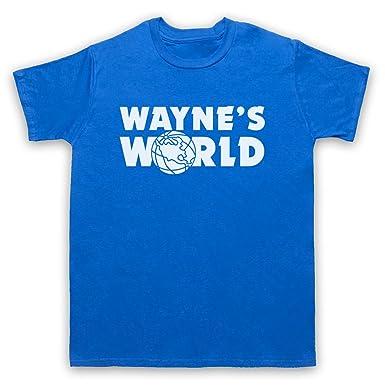 Inspiriert durch Wayne's World Logo Inoffiziell Herren T-Shirt: Amazon.de:  Bekleidung