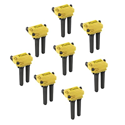 ACCEL 140038-8 Ignition SuperCoil Set (Pack of 8): Automotive