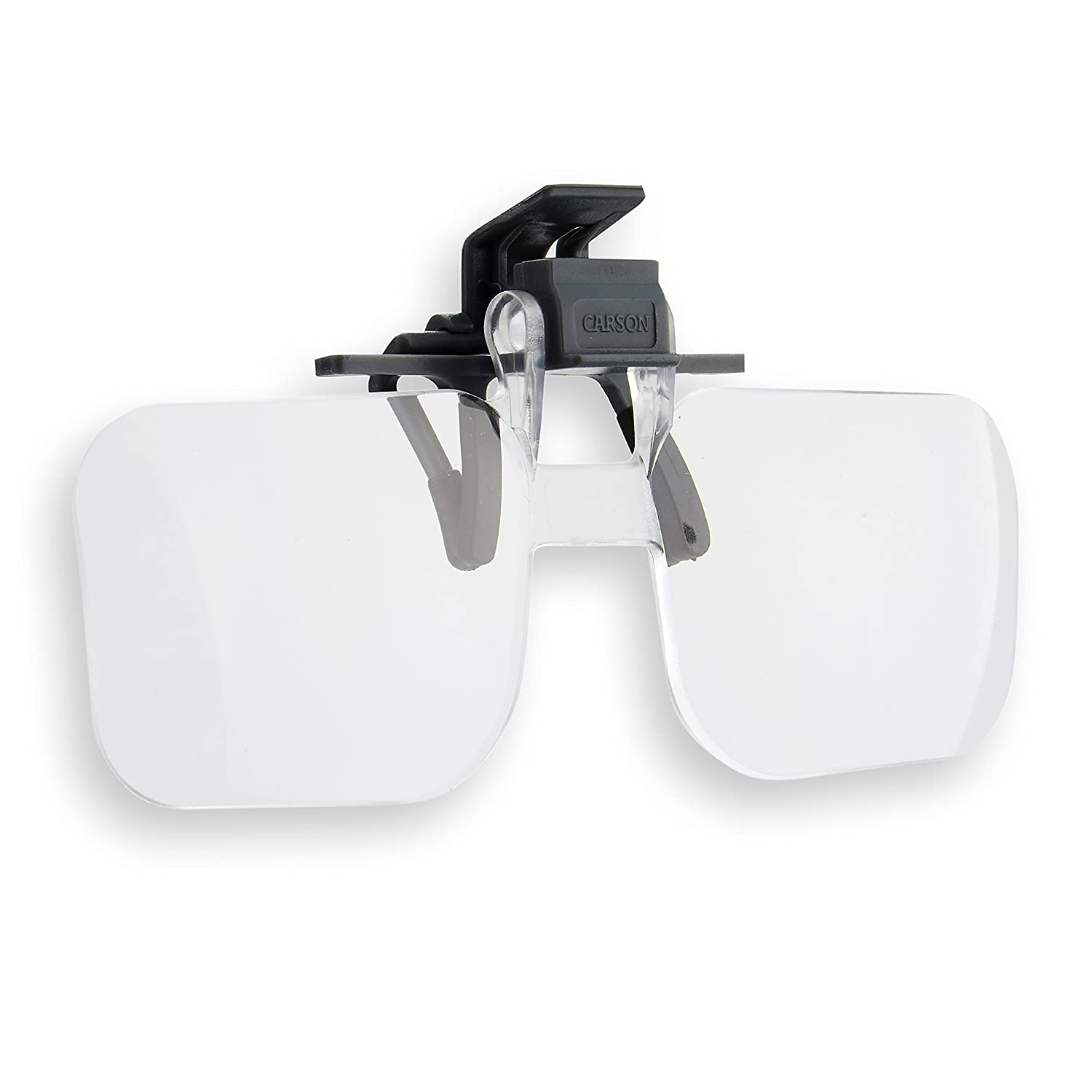 Carson Optical Clip and Flip 1.5X 2.25 Diopters Magnifying Lenses