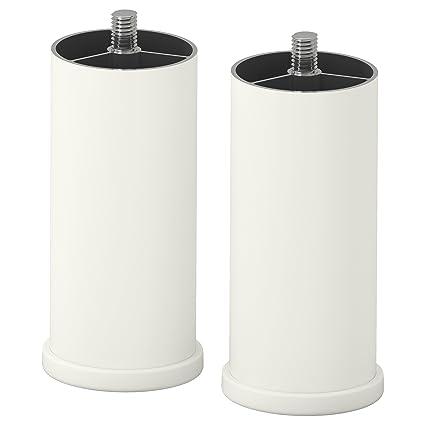 IKEA STUVA GRUNDLIG - Pata Blanca 2 pack: Amazon.es: Hogar
