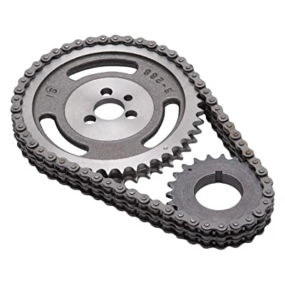 Edelbrock 7802 Performer-Link Timing Chain and Gear Set: Automotive