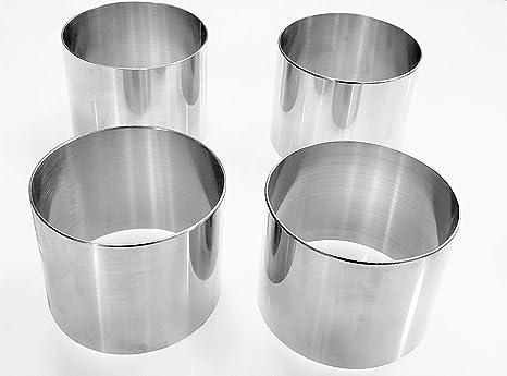 Amazon.com: Juego de moldes para anillos de acero inoxidable ...