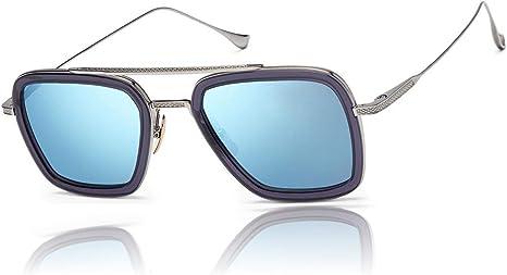 NEW Spider-Man Polarized EDITH Sunglasses Mens TONY STARK Iron Man Glasses UV400