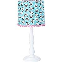 Abajur Infantil de Mesa, Carambola Luminárias, Estampado/Azul/Rosa