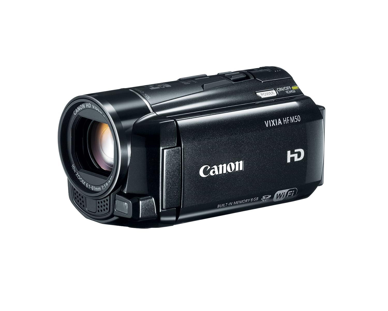 amazon com canon vixia hf m50 full hd 10x image stabilized rh amazon com  canon vixia hf m50 software