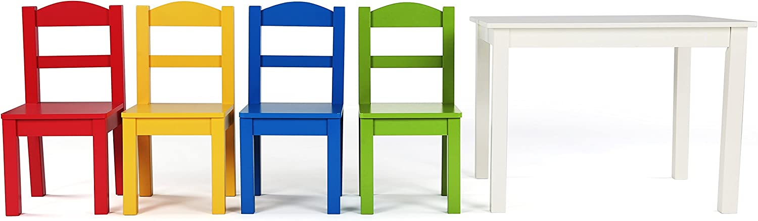 Tot Tutors TC406 Summit Table and 4 Chairs