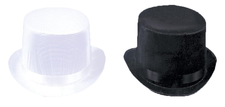 Amazon.com  Top Hat Trans Silk Black Lg  Clothing d9377af799c