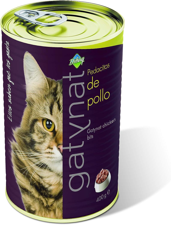 Dibaq Gatynat Pollo - 400 gr: Amazon.es: Productos para mascotas