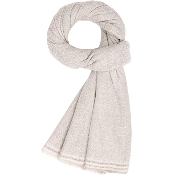 4c19114de Fashion Cashmere Scarf Unisex Women's Men Soft Wool Shawl Large Stole  Pashmina Beige White