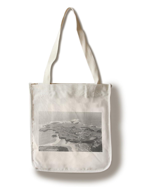 Mendocino、カリフォルニアエアビュー写真 Canvas Tote Bag LANT-3104-TT B0182QOR3E  Canvas Tote Bag