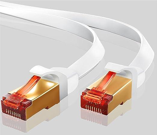 65 opinioni per IBRA Cavo di rete 4m- Cat 7 Cavo Ethernet Gigabit | Cavo patch LAN RJ45 | S/STP
