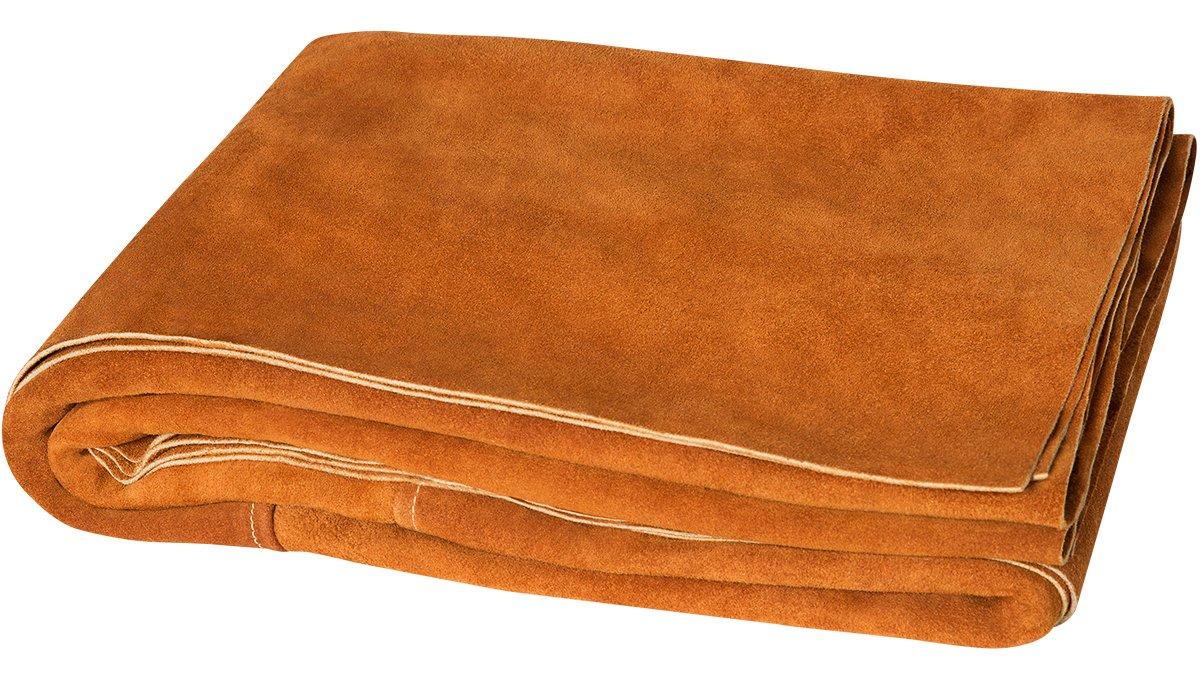 Steiner 321-6X6 Side Split Cowhide Leather Welding Blanket, 6' x 6'