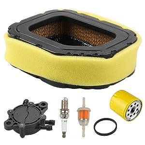 Harbot 32 083 03-S 32 883 03-S1 Air Filter + 52 050 02-S Oil Filter + 24 393 16-S Fuel Pump Tune Up Kit for Kohler SV710 SV715 SV720 SV730 SV735 SV740 Lawn Mower