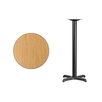 61 Cm Rund Laminat Tischplatte Mit 559 X 559 Cm Bar Höhe Tisch