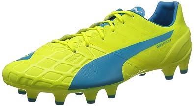 detailed look 8cab4 323df Puma Evospeed 1 4 Fg, Chaussures de football homme - Jaune (Safety Yellow