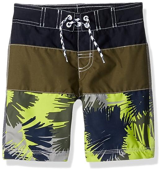 1534ced44a Amazon.com: Gymboree Big Boys' Safari Trunks, Multi, S: Clothing