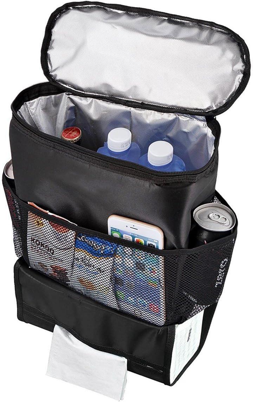 MEDIA WAVE store  340518 Organizador Asiento Trasero del Coche Bolsillos y Apartado frigor/ífico