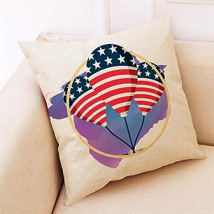 htfrgeds Linen, Pillowcases,Almohada Set Moderna geométrico ...