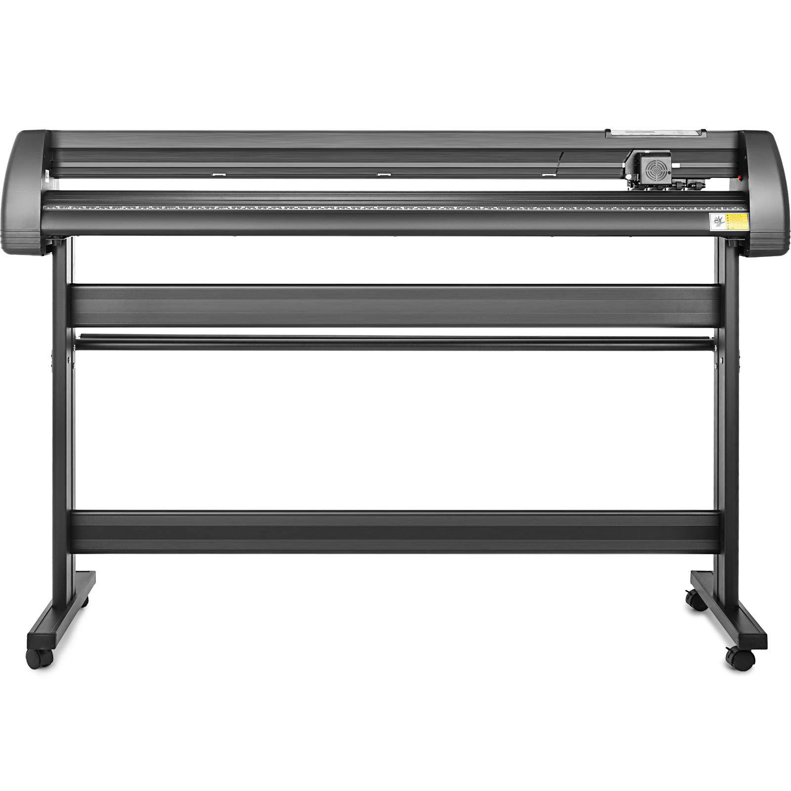 VEVOR Vinyl Cutter 53 inch Plotter Machine 1340mm Paper Feed Vinyl Cutter Plotter Signmaster Software Sign Making Machinewith Stand (53Inch Style 2) by VEVOR (Image #3)
