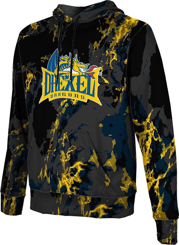 Marble ProSphere Drexel University Mens Pullover Hoodie School Spirit Sweatshirt