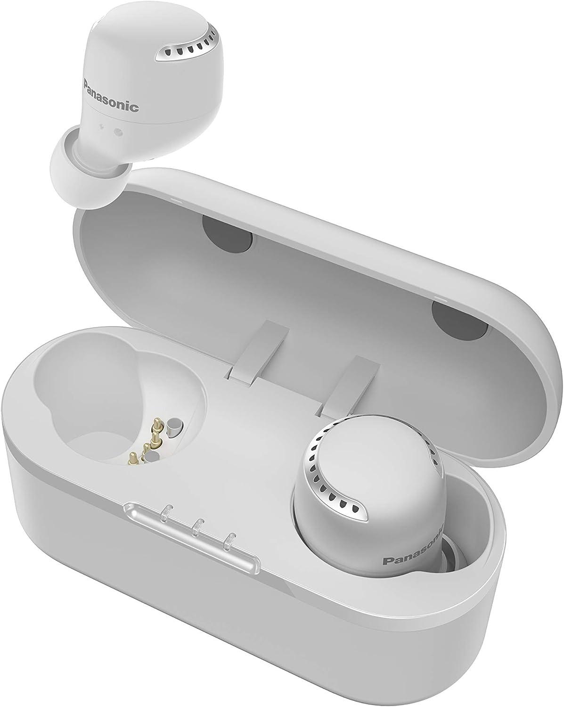 Panasonic RZ-S500WE-W - Auriculares True Wireless Inalámbricos con Sensor Táctil (Batería Larga Duración y Antena Compatible con Asistentes de Voz) ...