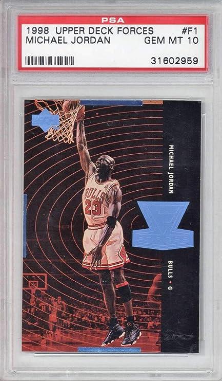 butik wyprzedażowy najlepiej online buty na tanie Michael Jordan 1998 Upper Deck Forces #F1 Basketball Card ...
