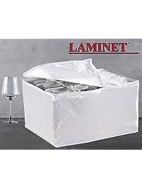 LAMINET Quilted Stemware Storage ...