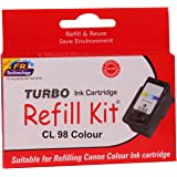Turbo Ink Cartridge Refill Kit for Canon cl 98 Color Ink Cartridge
