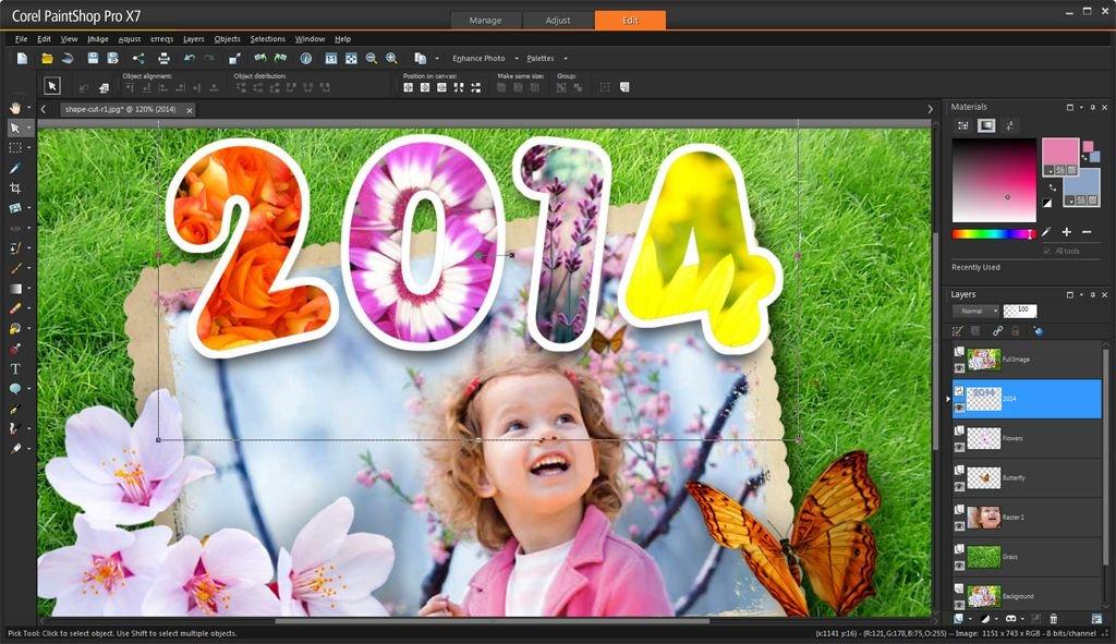 Cost of Corel PaintShop Pro X7 Software