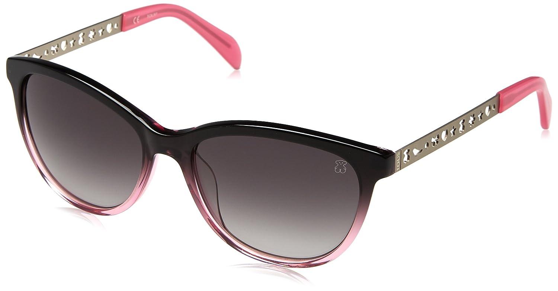 Tous STO919-540G49, Gafas de sol para Mujer, Pink Fading Grey 54
