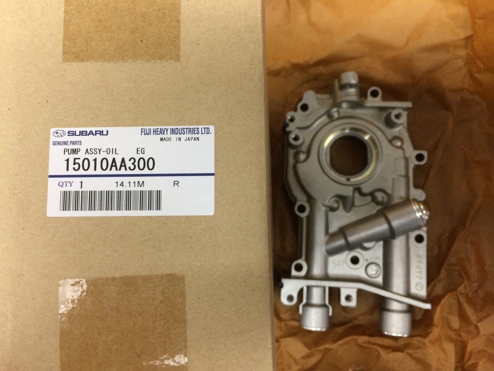 Genuine OEM Subaru 10mm Oil Pump WRX STi Legacy Forester Impreza 15010AA300