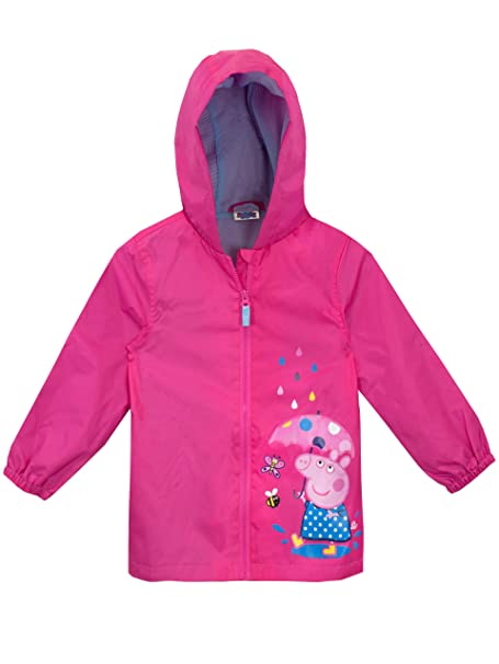 Peppa Pig Girls Raincoat Size 2T Pink