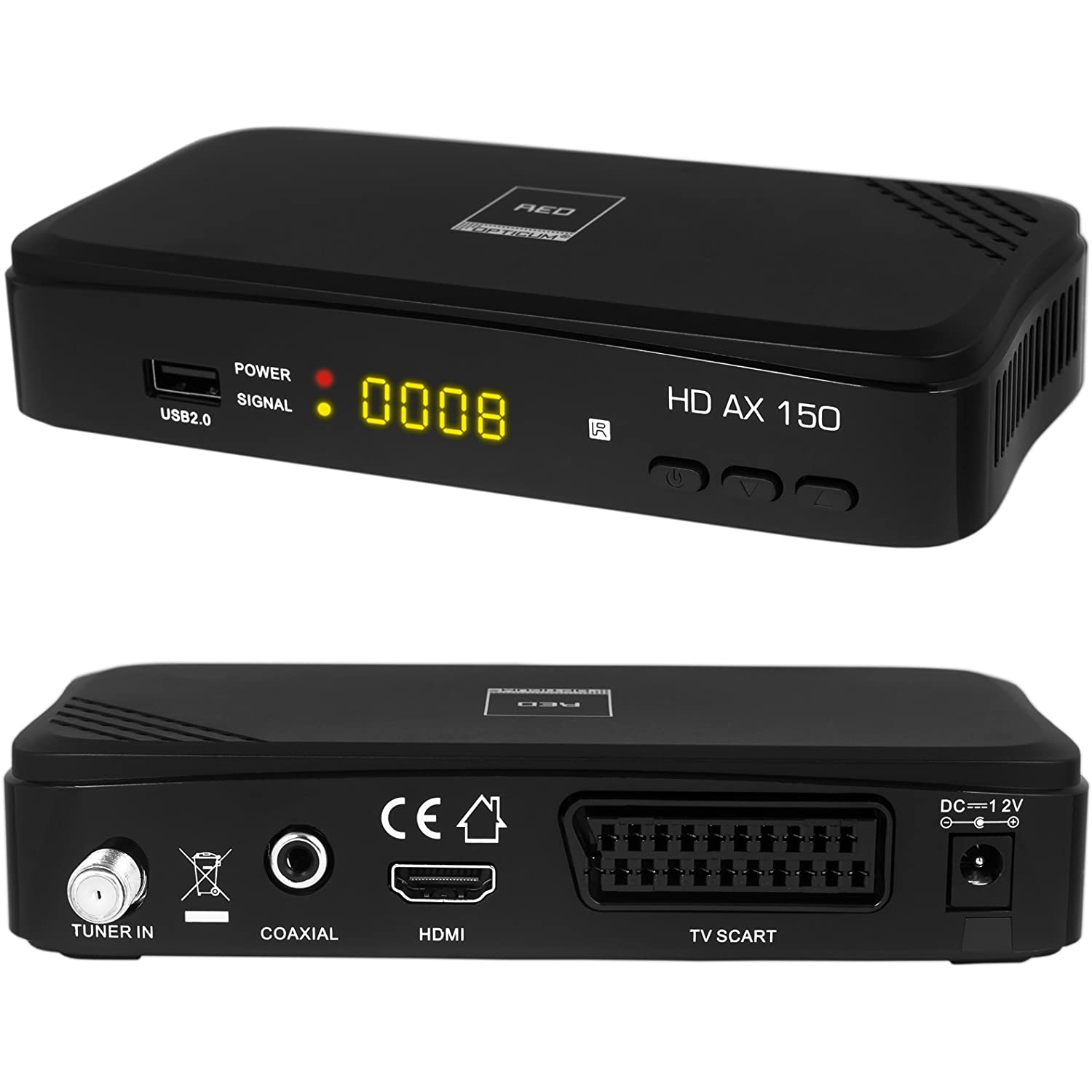HB Digital Satelliten Receiver