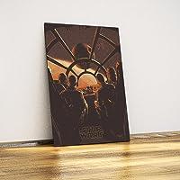 Javvuz - Star Wars - Metal Poster