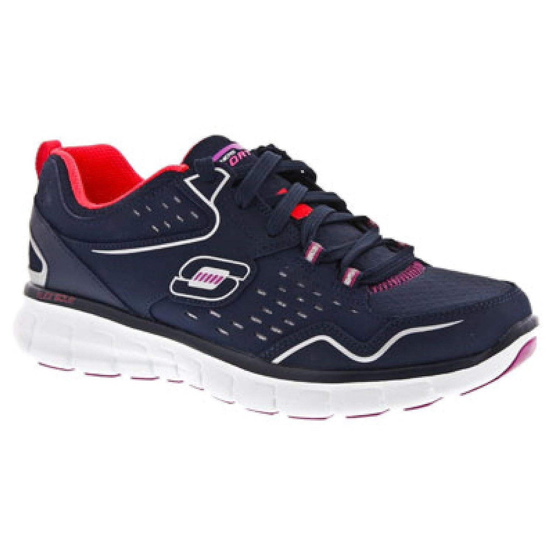 Skechers USA Synergy Synergy Synergy - Front Row Damen Sneaker Anthrazit/Schwarz 5666c3