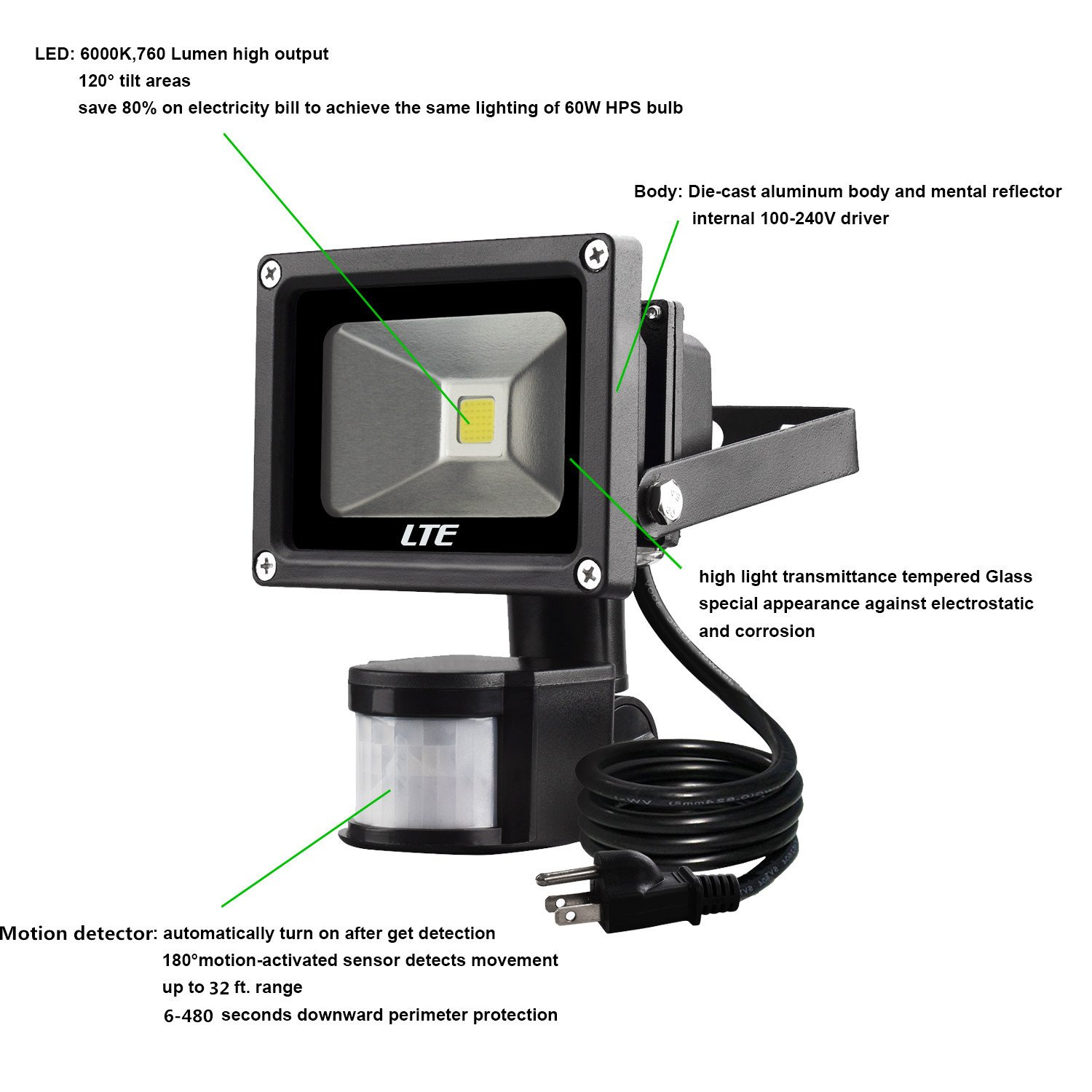 Daylight Sensor Flood Light Installation Wiring Diagram